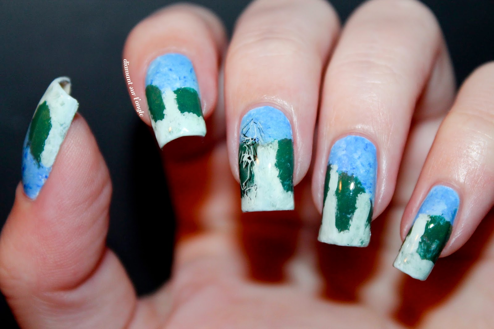 Studio Ghibli inspired Nail Art