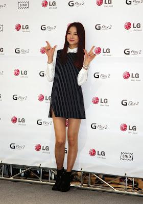 EXID Solji LG G Flex2