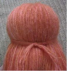 Crochet Patterns Hair : to make Hair for an Amigurumi Doll - Sayjai Amigurumi Crochet Patterns ...