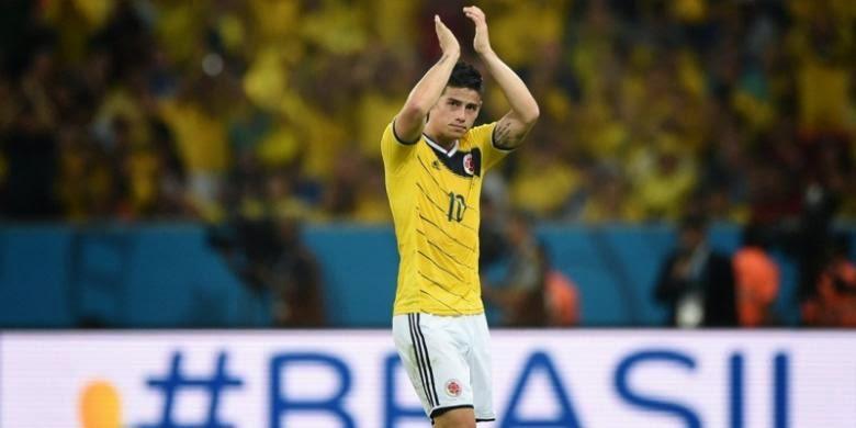 Kolombia Borong Dua Gelar dari Brasil