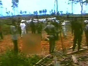 Video Pembantaian Petani di Mesuji lampung | Pembunuhan sadis Petani Mesuji