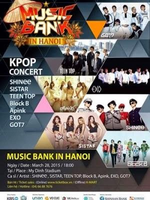Phim KBS Music Bank tại Hà Nội-Music Bank in Hanoi