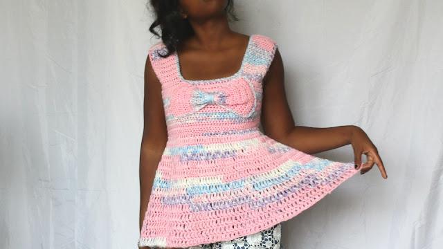 HandMade: The Be Mine Crochet Top.