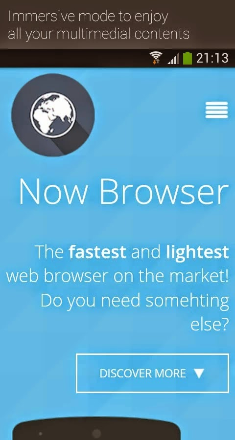 Now Browser Pro (Material) v2.7.8
