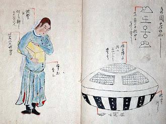 UTSURO-BUNE: El Ovni que Cayo en una Playa Japonesa en 1803