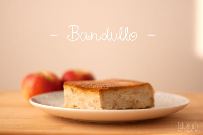 Receta de bandullo o pudin de pan #receta