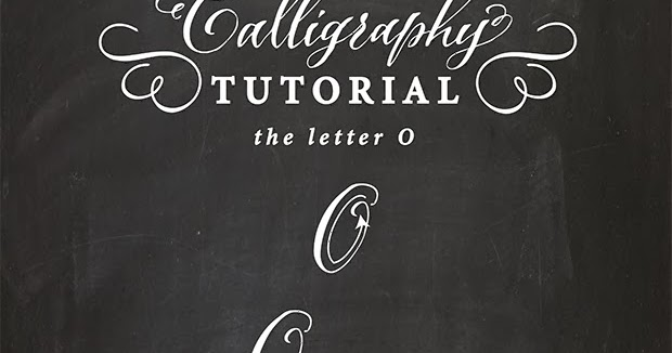 Antiquaria Calligraphy Tutorial The Capital Letter O
