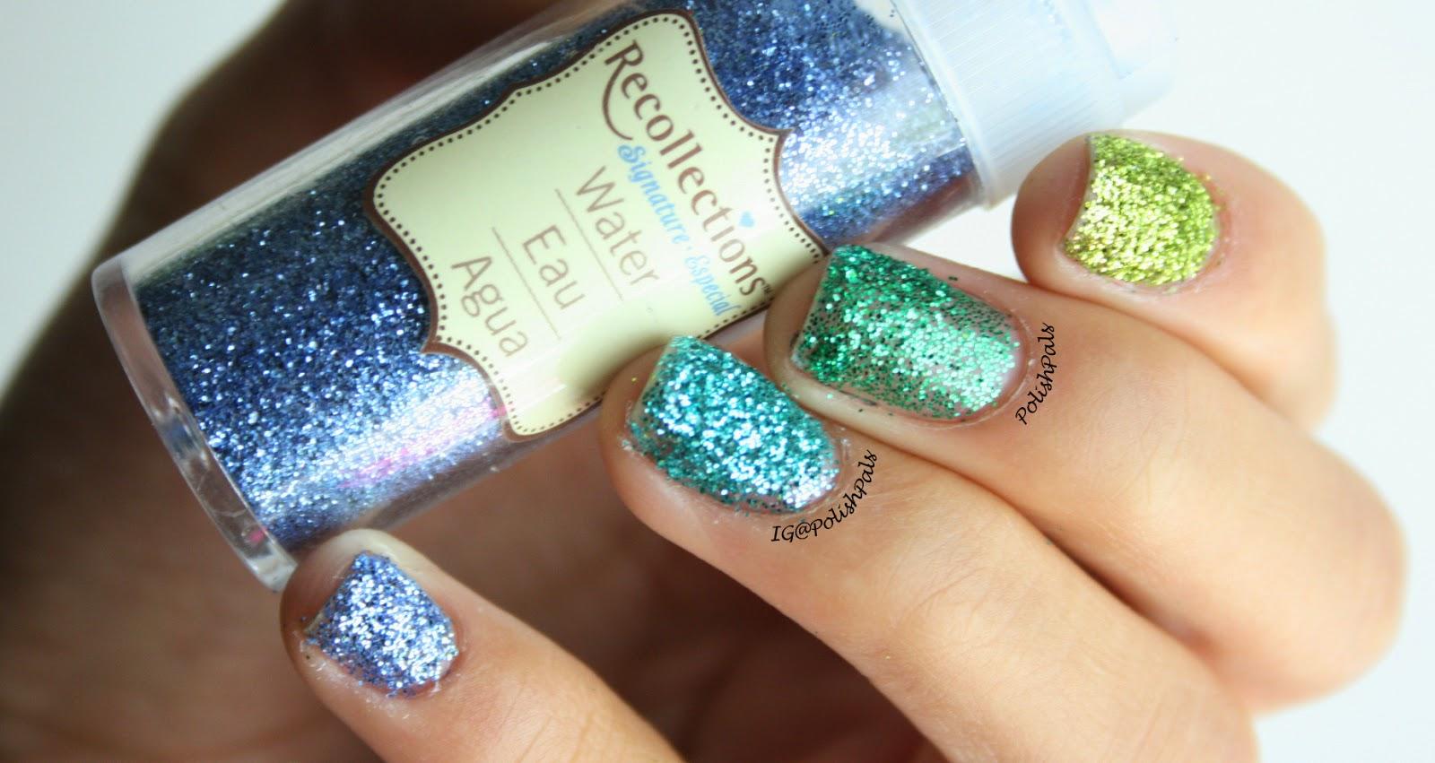 Polish Pals: Ombre Loose Glitter Nails (+ Tutorial)