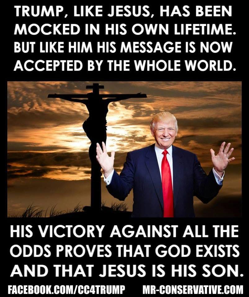 Donald und Jesus