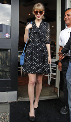 Taylor Swift Print Dress