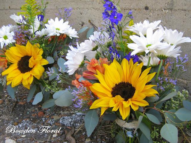 Bowden floral santanello wedding