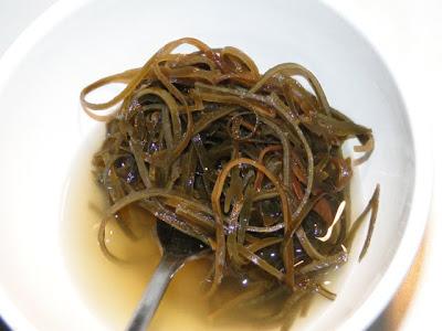 Geweekt zeewier