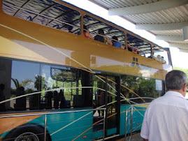 Ônibus p/ a barragem