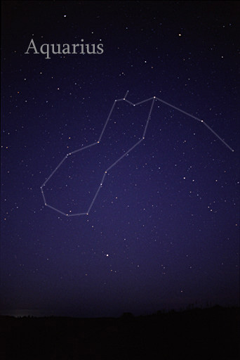 Một cách khác để nhận ra chòm sao Aquarius, hãy chú ý ngôi sao sáng Fomalhaut bên dưới đó. Hình ảnh bởi AlltheSky.