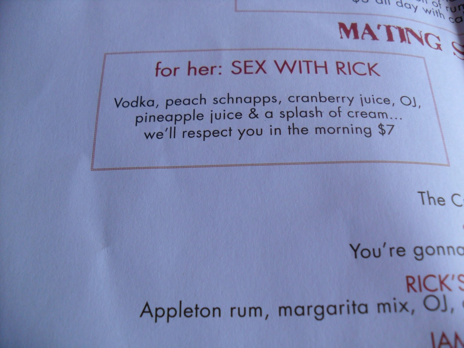 What S The Signature Drink At Rick S Cafe In Jamaica