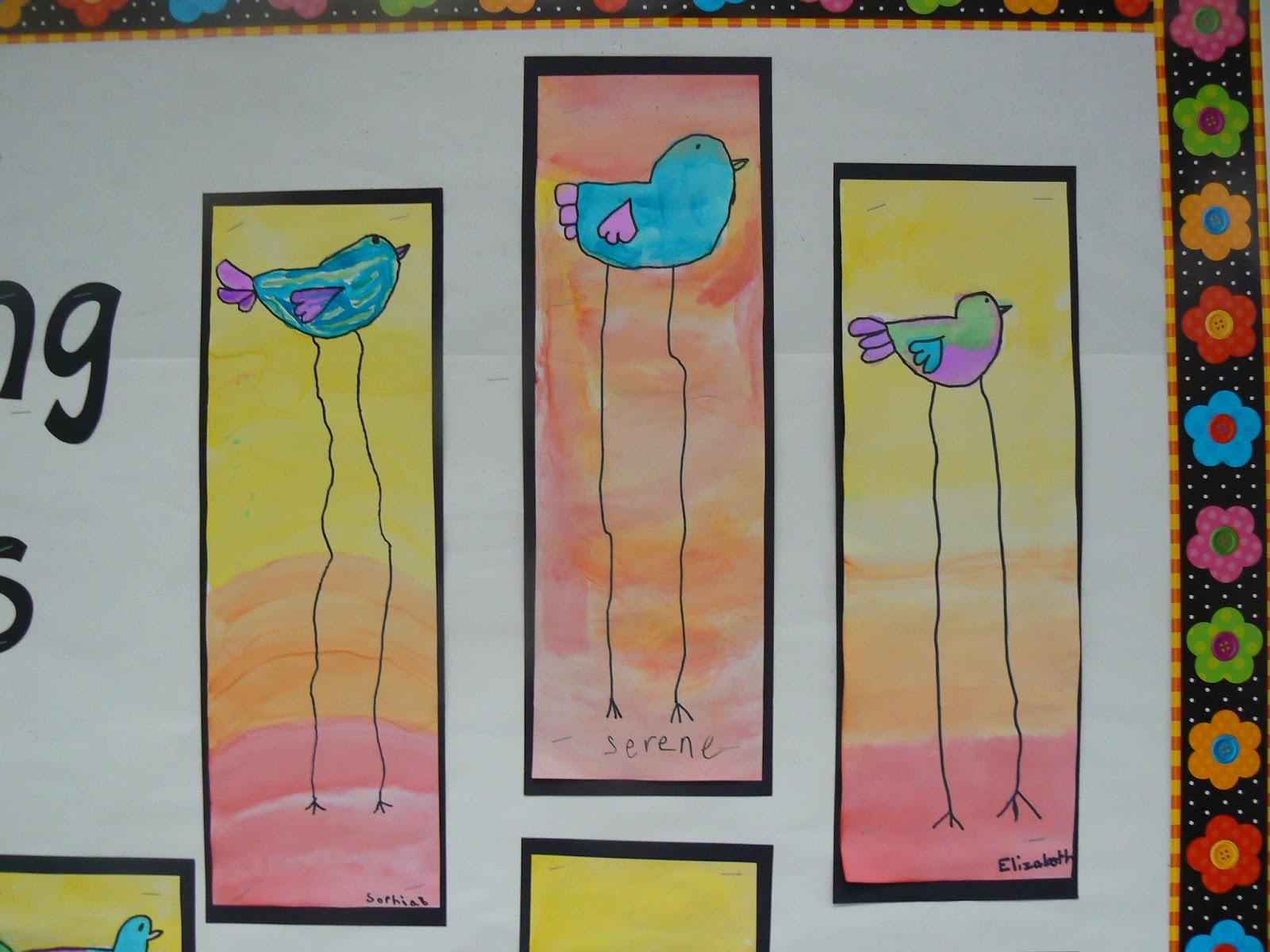 Dali Style Spring Birds