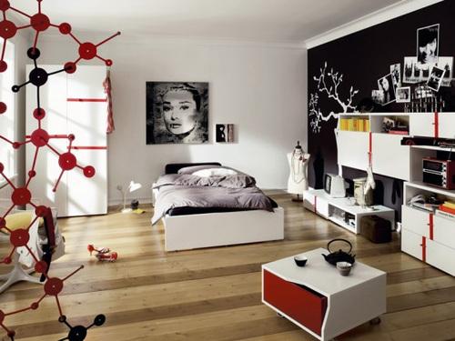 Decorazioni, decori, adesivi camere da letto