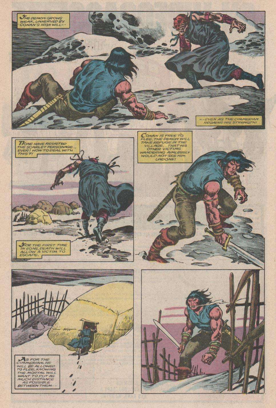 Conan the Barbarian (1970) Issue #175 #187 - English 19