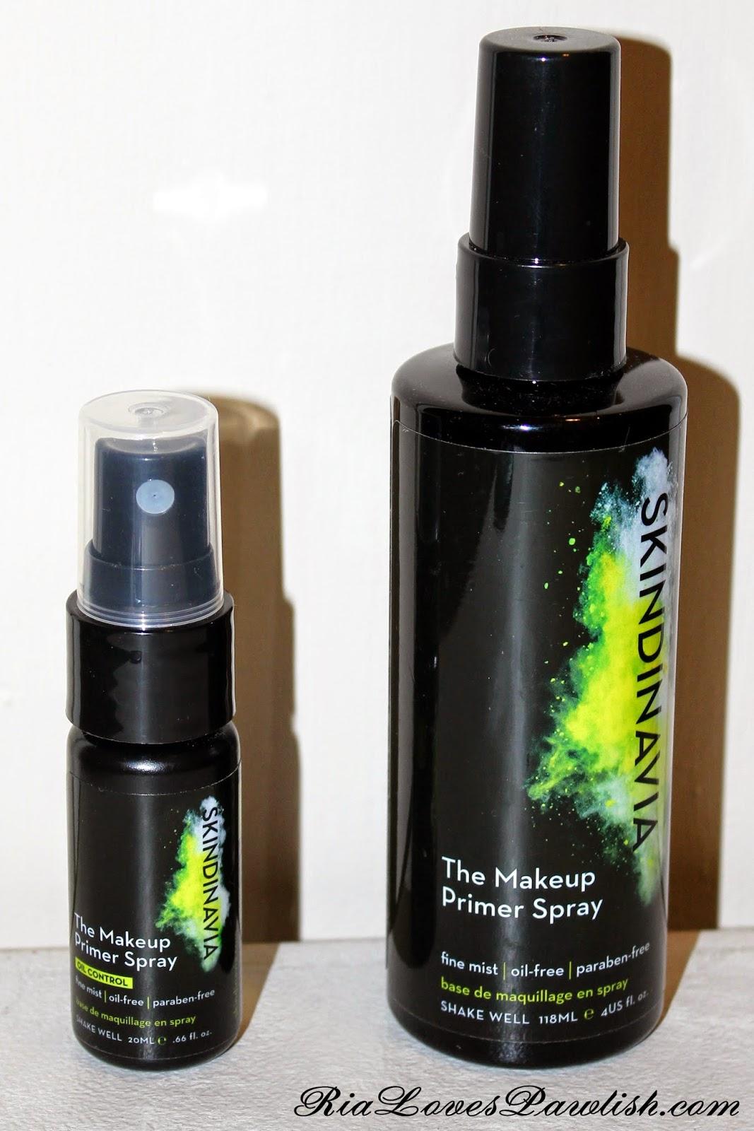 Ria Loves Pawlish: Skindinavia The Makeup Primer Spray and The ...