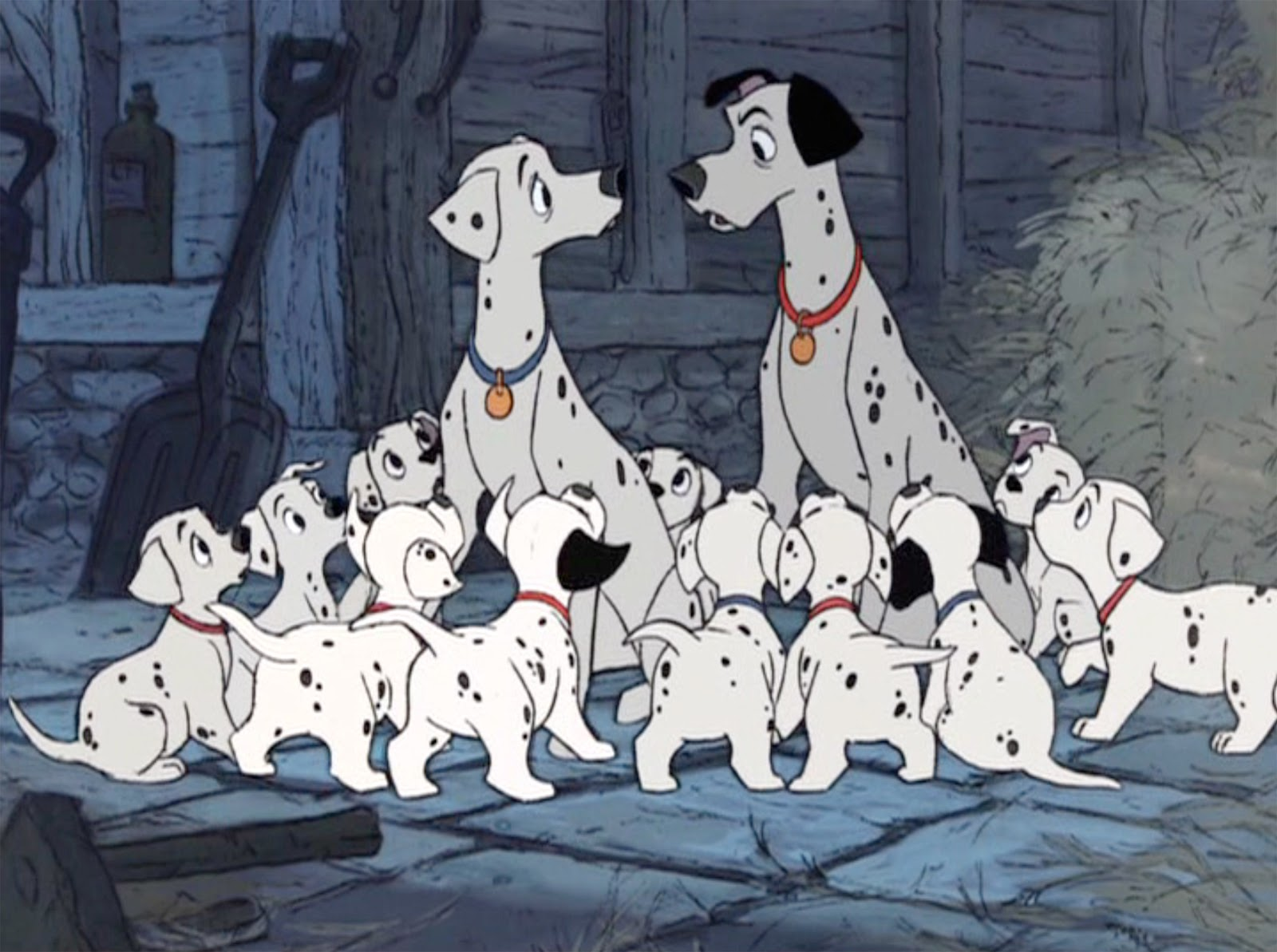 Wool and Wheel 101 Dalmatians 1961