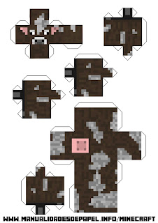 Crear bloque minecraft de vaca