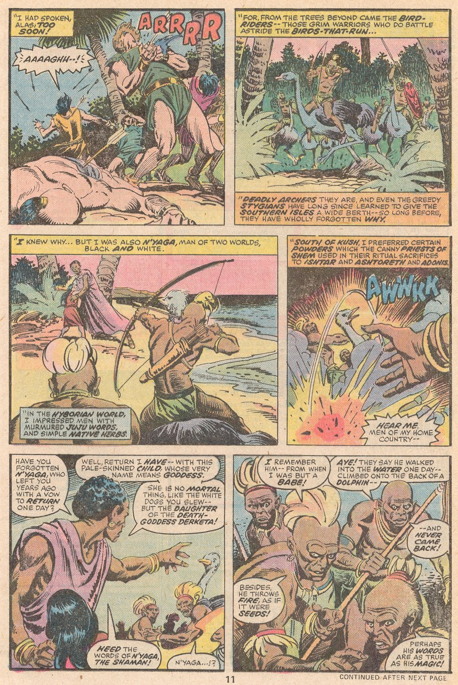 Conan the Barbarian (1970) Issue #59 #71 - English 8