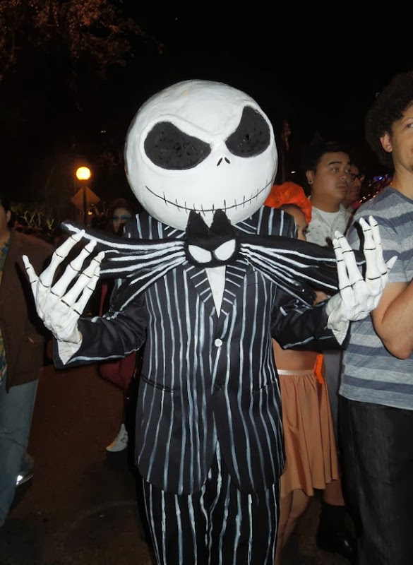 Jack Skellington costume West Hollywood Halloween