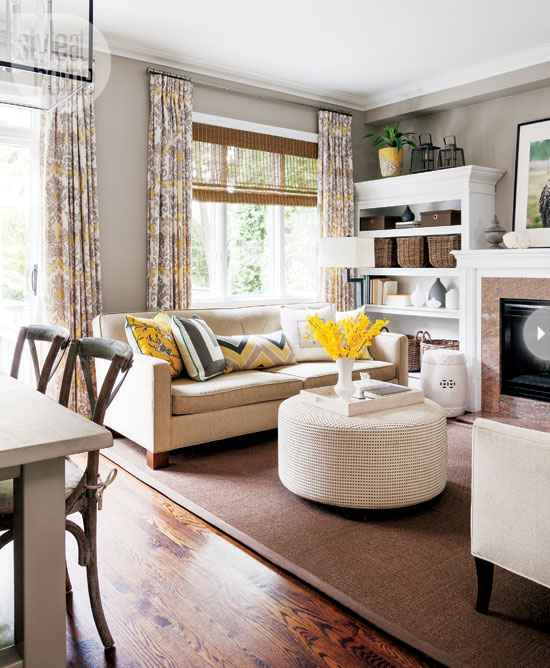 Mix and chic home tour a fresh and stylish toronto home for Kid friendly living room decorating ideas