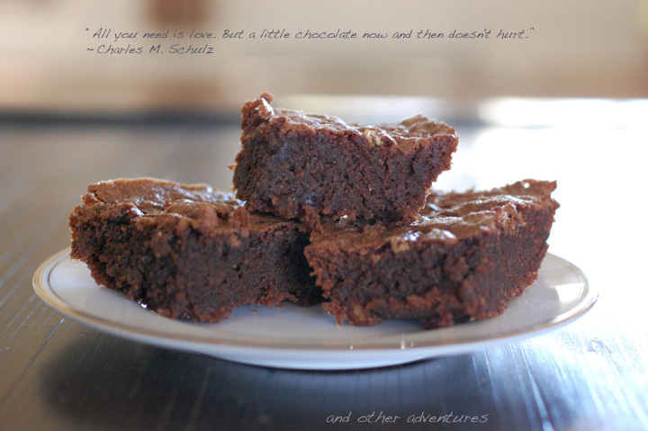 cinnamon salted almond flour brownies