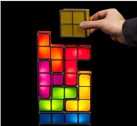 lampara de tetris para regalar