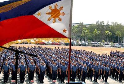 Philippine National Police year end bonus