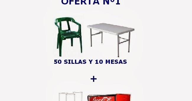 Alquiler de carpas sillas y mesas en granada ofertas for Ofertas de mesas y sillas
