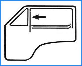 2x VW t4 Transporter autobús recuadro reparación chapa faldones guardabarros delantero radlauf