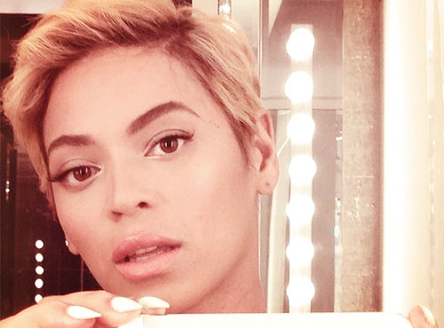 Beyonce's new hair cut