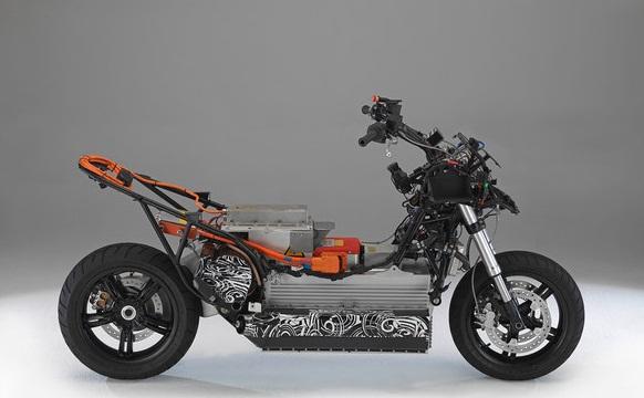 BMW E-Scooter Konsep_rangka-Gambar Foto Modifikasi Motor Terbaru.jpg