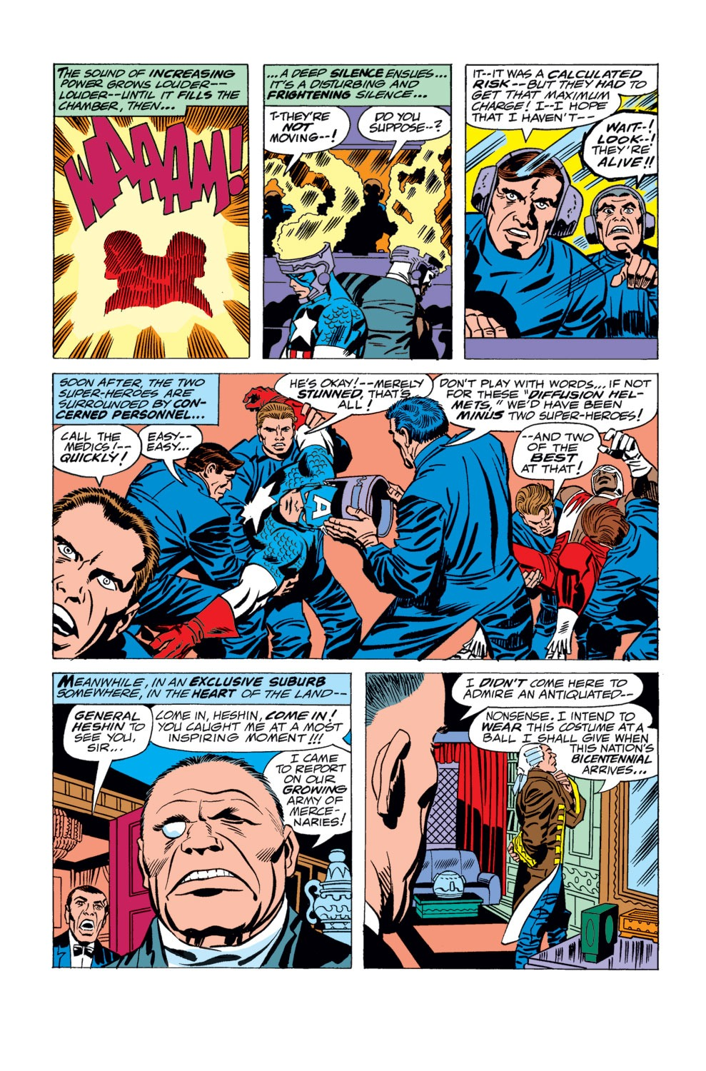 Captain America (1968) Issue #194 #108 - English 5