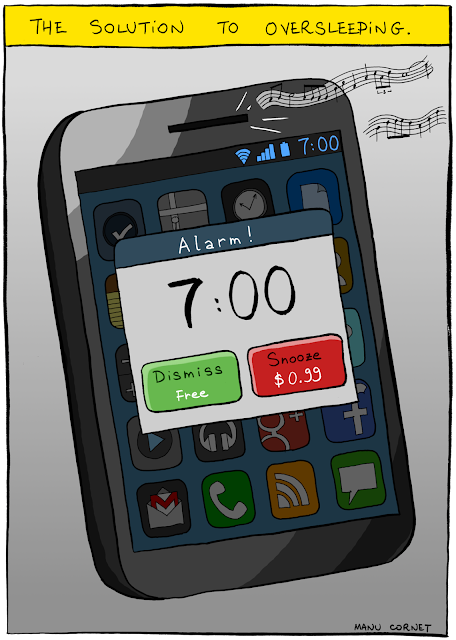 snooze money alarm clock