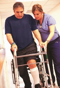 A Stroke Patient get rehabilitation Medical Treatment and therapy