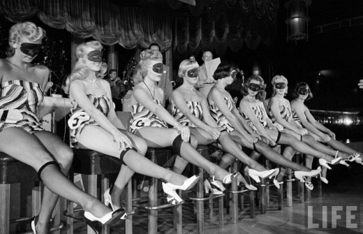 vintage everyday  beautiful legs contest  1949