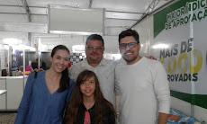 VISITA DO CASAL DE ADVOGADOS ( DRº JEFERSON E DRª ERIKA ) EX - ALUNOS APROVADOS NA O A B - PE / 3º