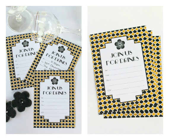 Free Printable Art Deco Cocktail Party Invitations @ Love That Party