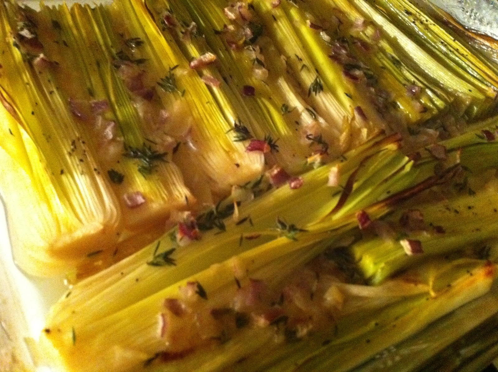 ... Scone: Sunday night soiree with Cornish game hens and braised leeks