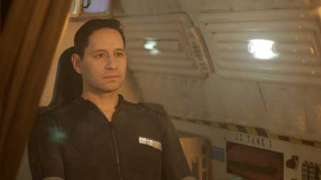The Story Follows Two Soldiers And Their Android Butler Who Board The Prometheus A Cargo Ship Dead In Space Carrying A Super Weapon Meant To Destroy The