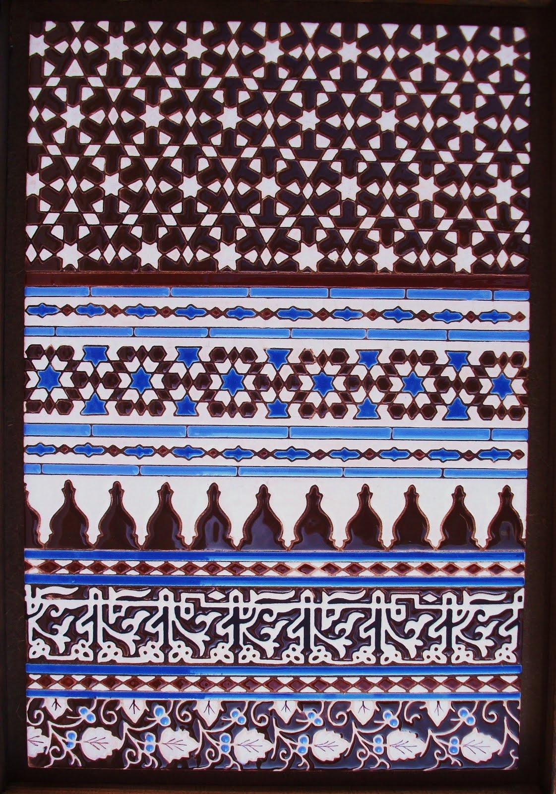 Caf del viajero azulejos decorativos for Azulejos decorativos