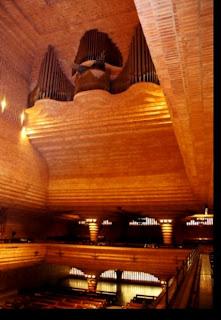 El órgano en el Santuario de Torreciudad (Somontano, Huesca, Aragón, España)