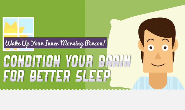 Image: Wake Up Your Inner Morning Person! Condition Your Brain for Better Sleep!