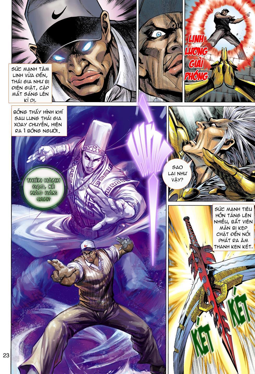 Thần Binh 4 chap 16 - Trang 23