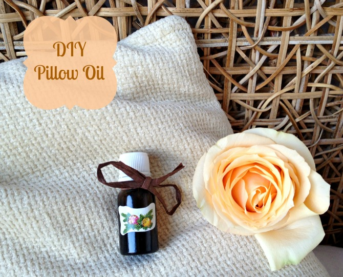 DIY Pillow Oil