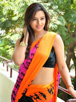 Isha Chawla latest glam pics in saree-cover-photo