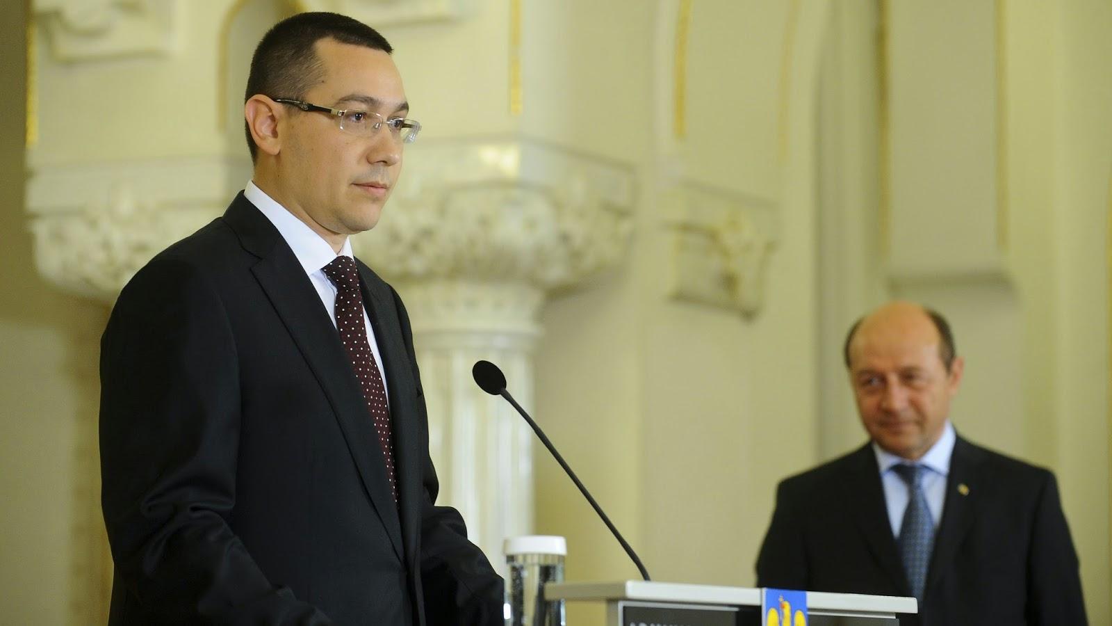 Traian Băsescu, Victor Ponta, Călin Popescu Tăriceanu, államelnök-választások, Románia, politika,